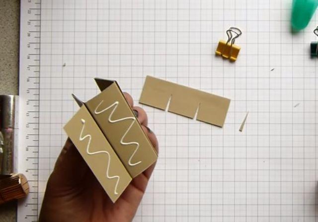 cách làm hộp giấy đựng son bước 12