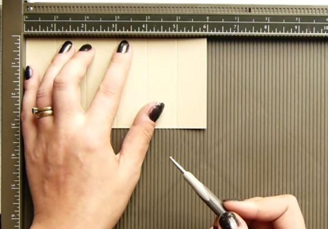 cách làm hộp giấy đựng son bước 3