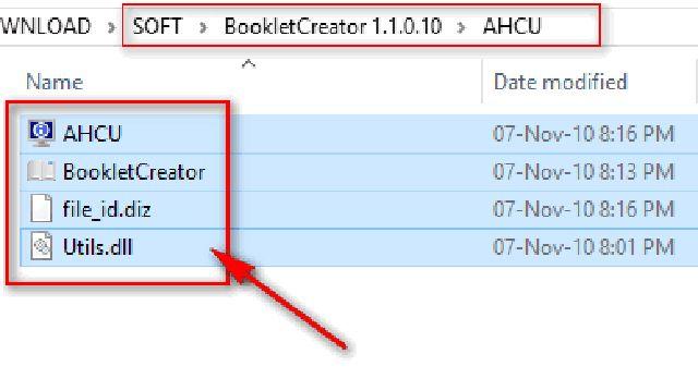 Cách tải chương trình tạo sách khổ A5-2