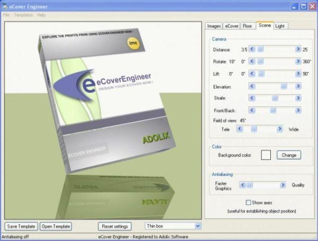 Phần mềm eCover Engineer