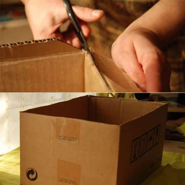 Lưu ý khi làm hộp giấy