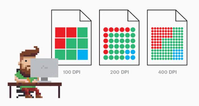 Tiêu chuẩn của DPI trong in ấn