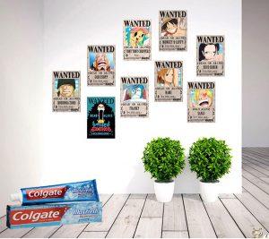 Cách dán poster lên tường bằng kem đánh răng