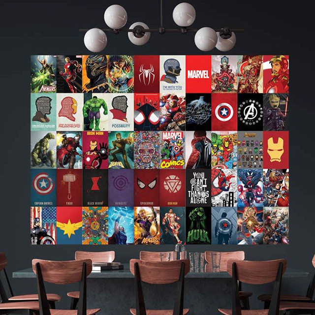 Lợi ích của việc dán poster lên tường