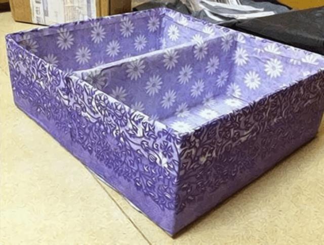 Cách làm hộp đựng đồ lót bằng giấy 2