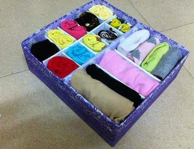 Cách làm hộp đựng đồ lót bằng giấy 4