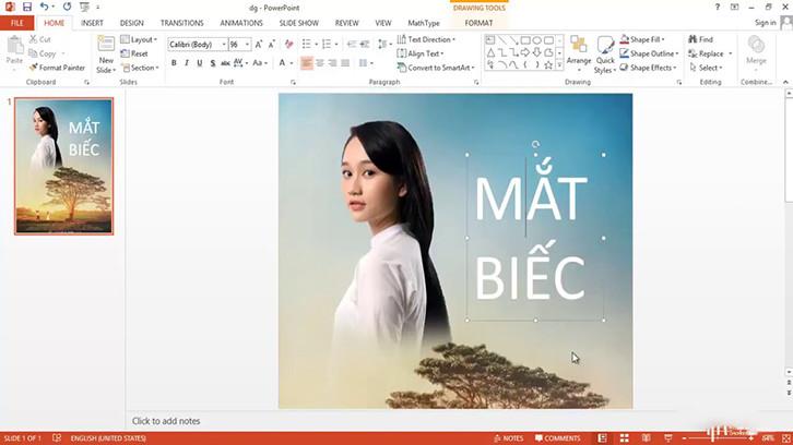 Lưu ý khi làm poster bằng PowerPoint