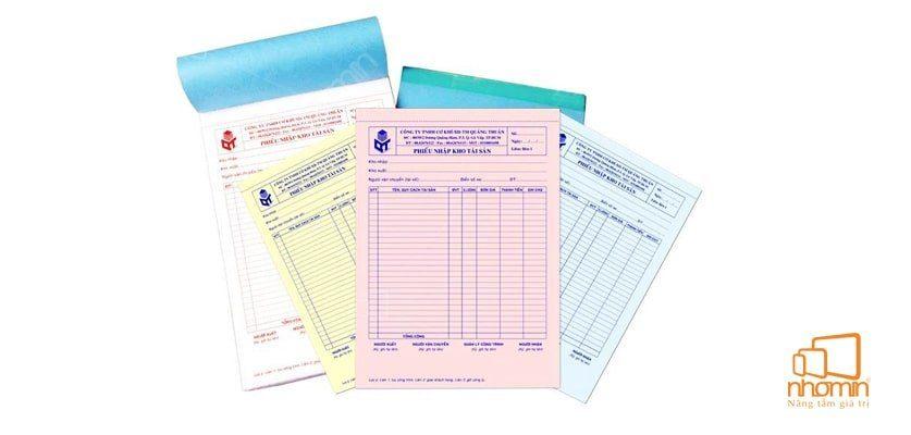 Các mẫu hóa đơn được sử dụng phổ biến