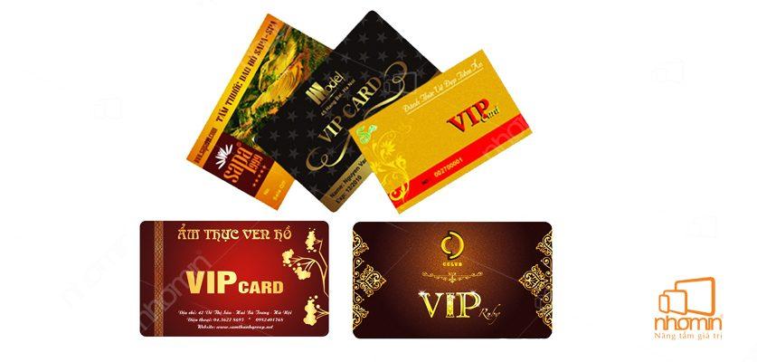 Các mẫu thẻ nhựa VIP cao cấp