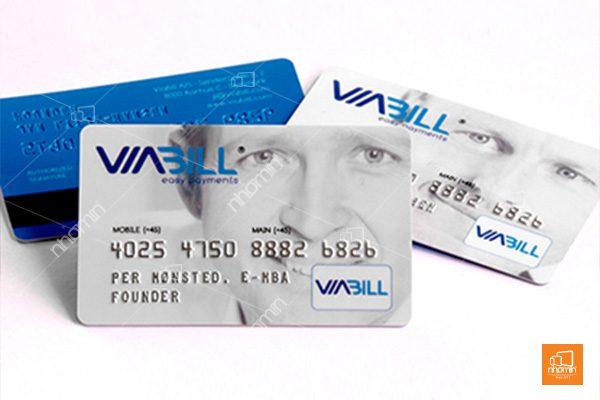 In thẻ nhựa cao cấp, sang trọng