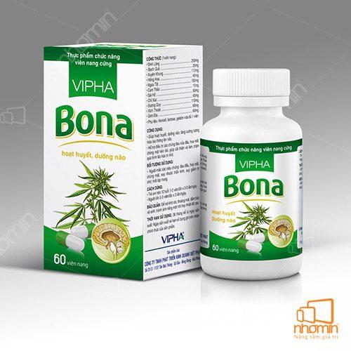 mẫu hộp giấy Bona