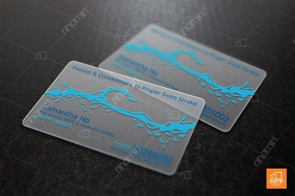 Nhận in thẻ nhựa Hà Nội