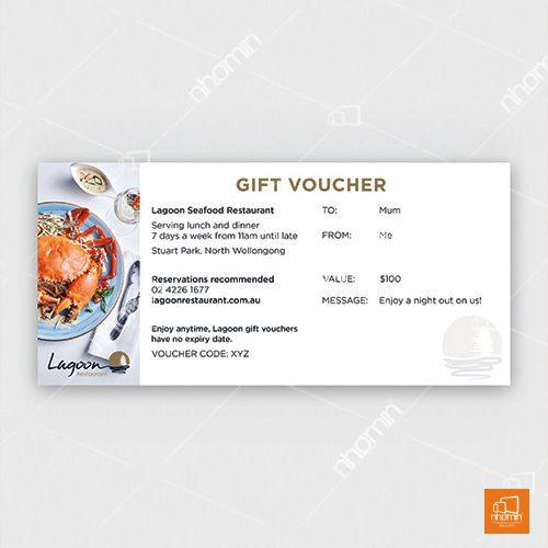 Thẻ voucher nhà hàng