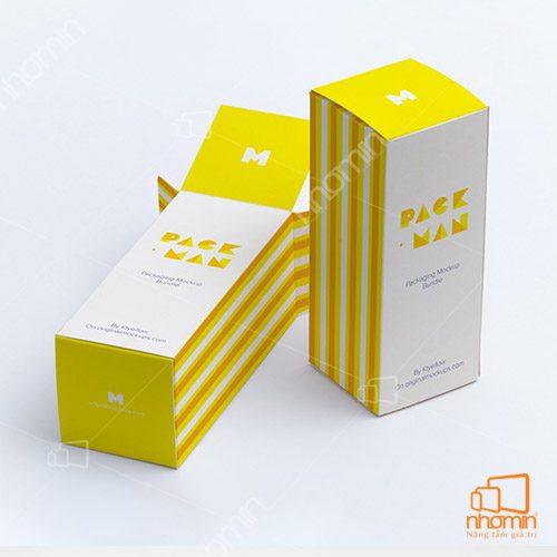 Thiết kế mẫu hộp giấy sáng tạo