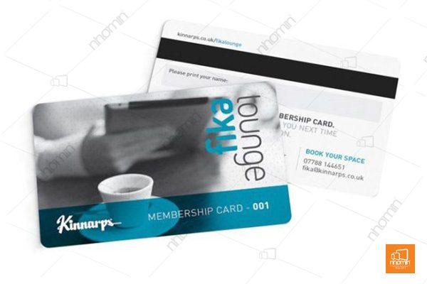 Thiết kế thẻ nhựa ấn tượng, dễ tạo sự chú ý