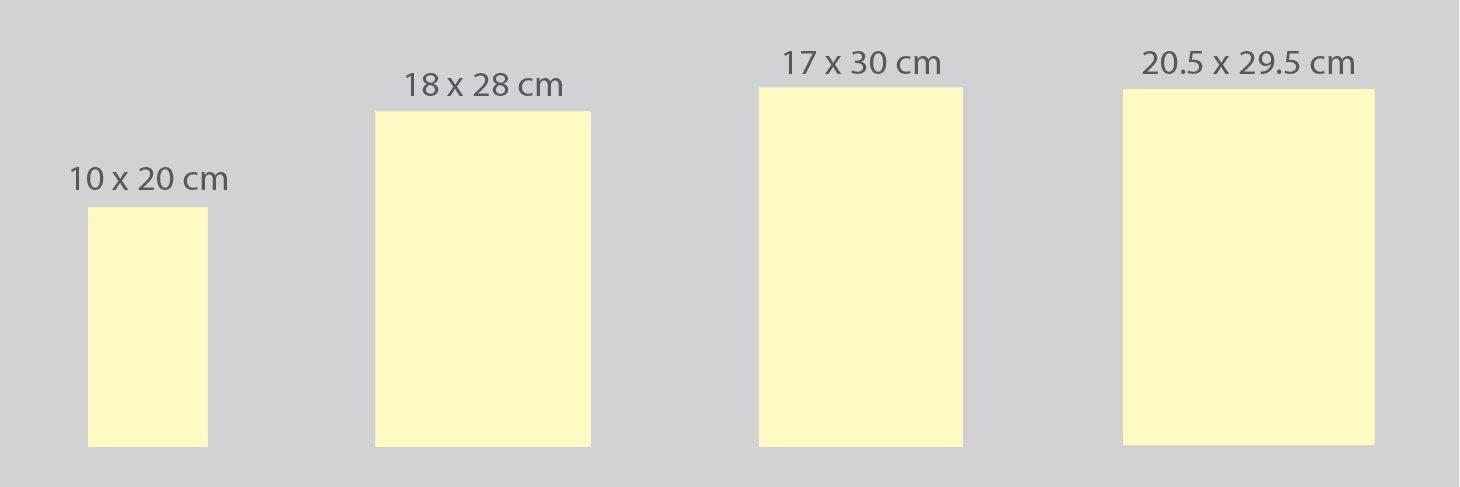kích thước lịch để bàn
