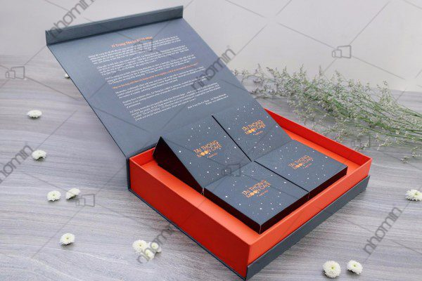hộp bánh trung thu 4 bánh