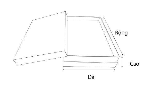 kích thước hộp âm dương dẫn hướng
