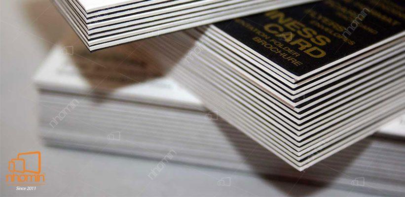 card visit giấy bồi