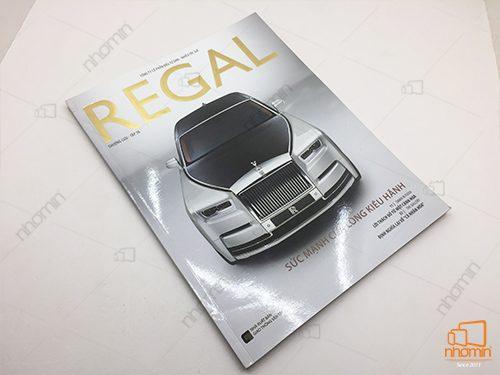 ép kim vàng cuốn catalog