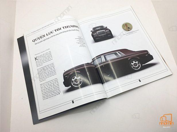 công nghệ in catalog gia re đẹp sang trọng cho tạp chí
