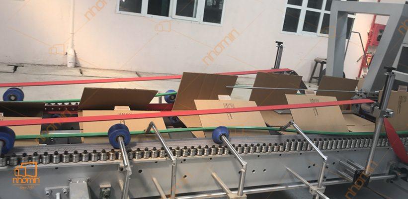 dây truyền sản xuất thùng carton của nhóm in