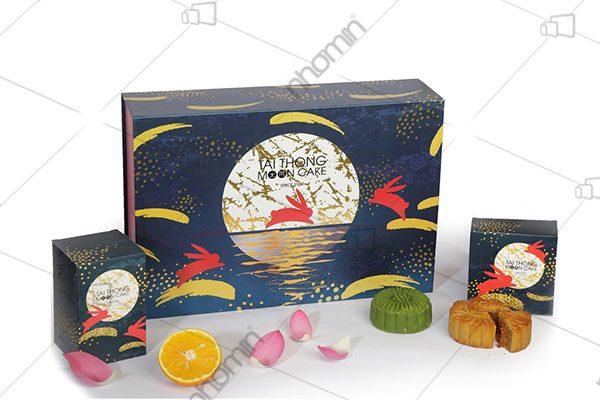 mẫu hộp bánh tài thông mooncake