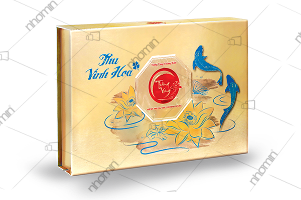 hộp bánh trung thu trăng vàng