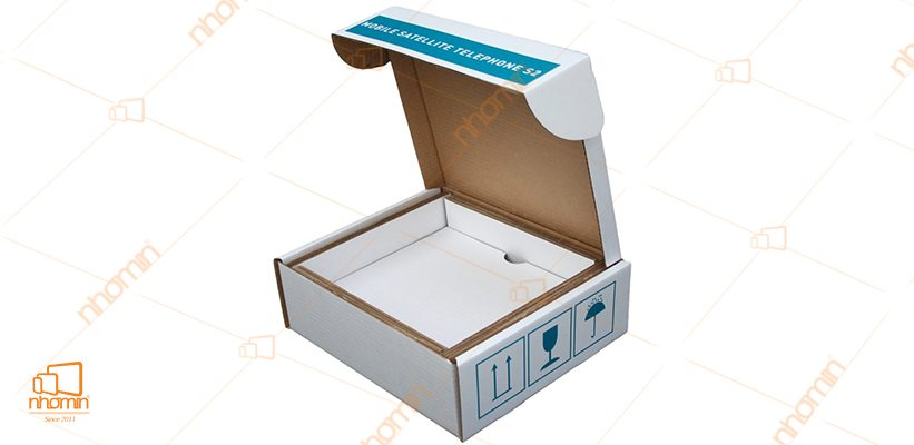 hộp carton in 1 màu