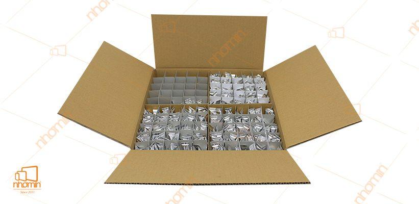 hộp carton nhiều ngăn