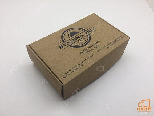 hộp thức ăn giấy kraft