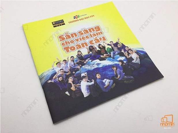 mẫu catalogue giới thiệu chương trình học đại học FPT