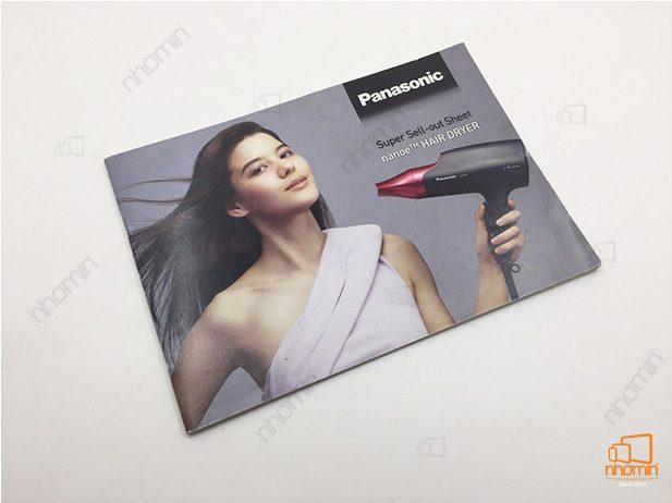 mẫu catalogue máy sấy tóc công nghệ của panasonic