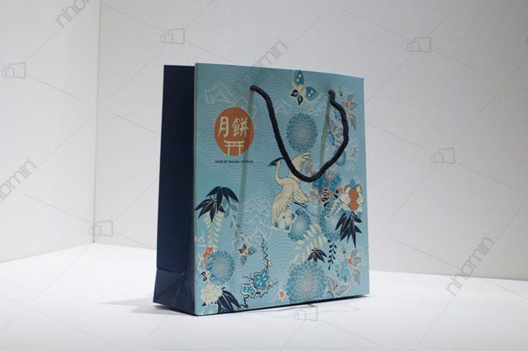 thiết kế in tui giây với họa tiết độc đáo cho sakuko