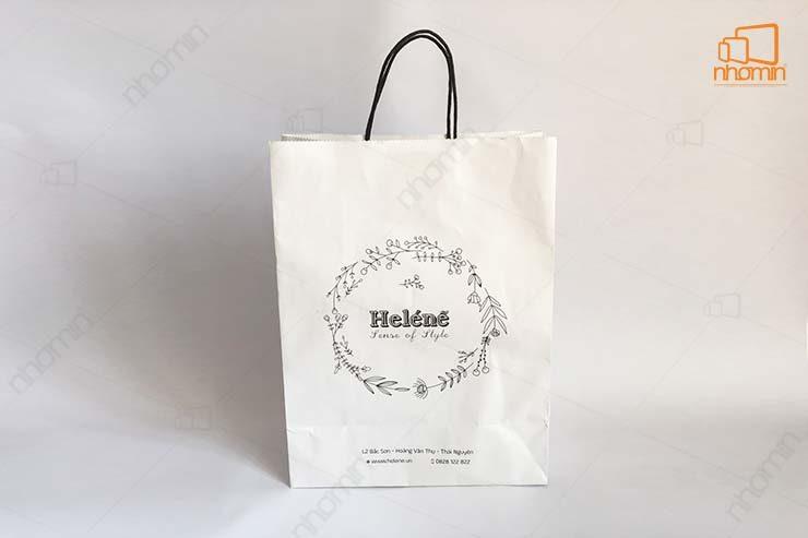 mẫu túi giấy helene