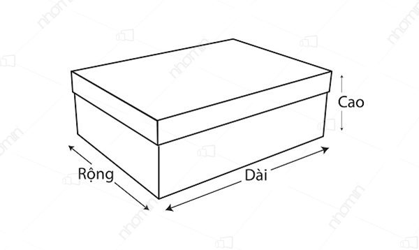 kích thước hộp âm dương