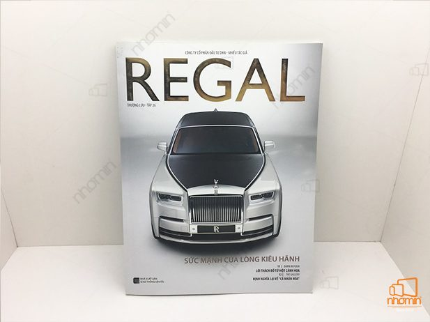 in catalogue theo yêu cầu cho tạp chí Regal