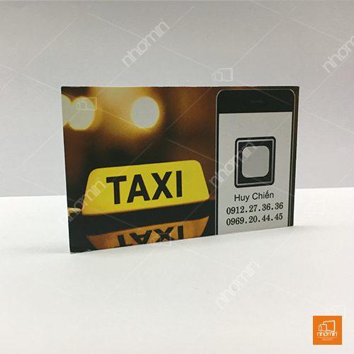 Mẫu card visit taxi đẹp