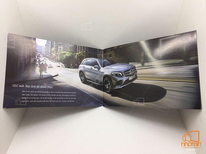 thiết kế và làm catalogue giá rẻ ô tô