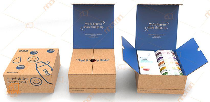 mẫu hộp carton độc đáo