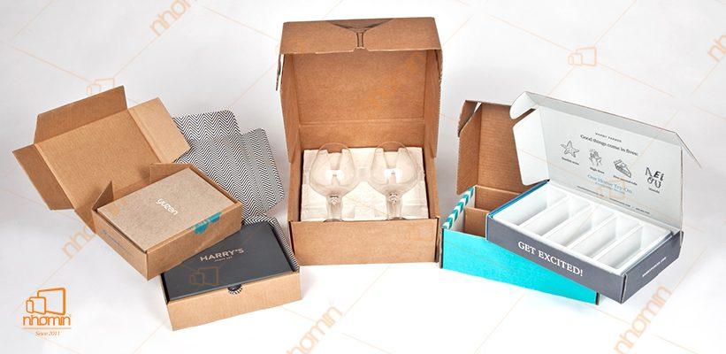mẫu hộp carton kích thước nhỏ