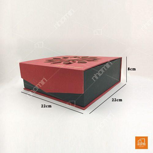 mẫu hộp cứng bánh trung thu ép kim