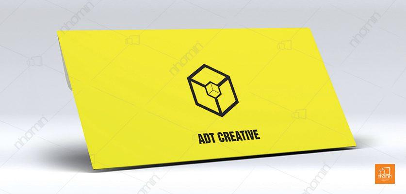 mẫu phong bì công ty ADT CRATIVE