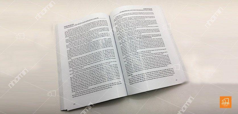 mẫu sách phổ biến
