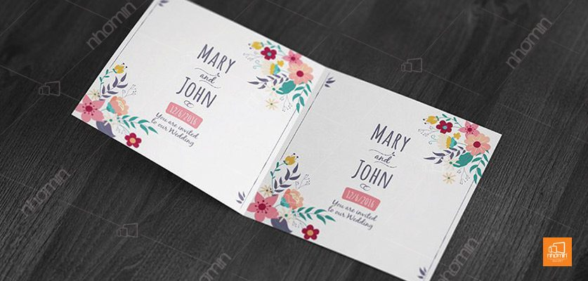 Mẫu thiệp mời cưới