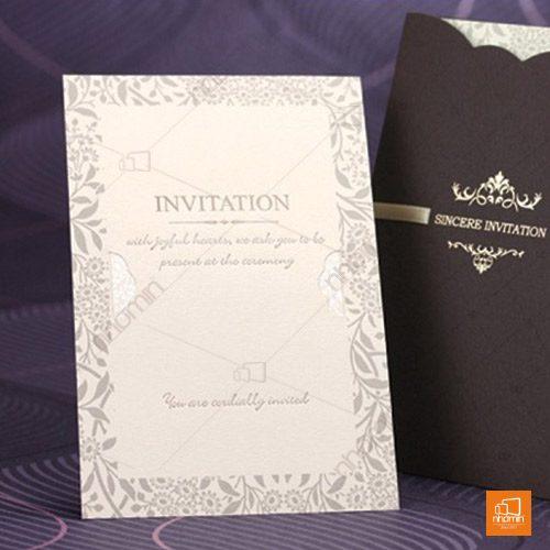 Mẫu thiệp mời tinh tế