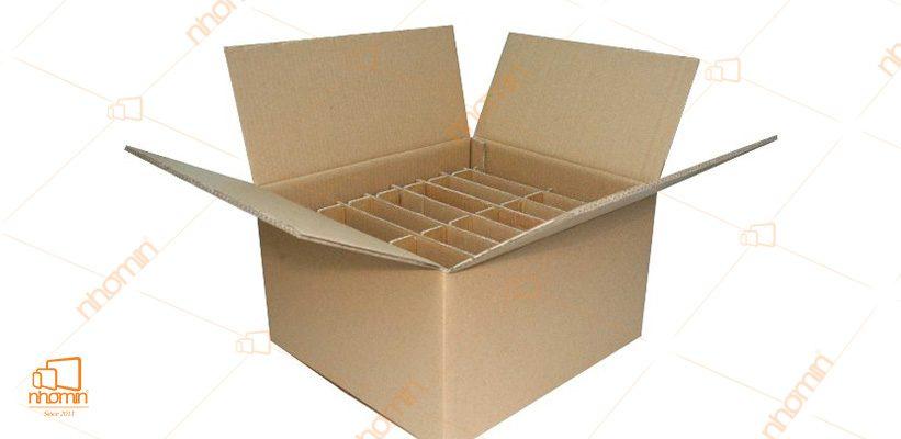 mẫu thùng carton nhiều ngăn