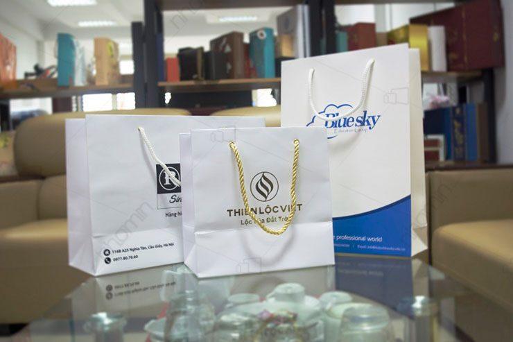 mẫu in túi xách giấy giá rẻ của thiên lộc việt