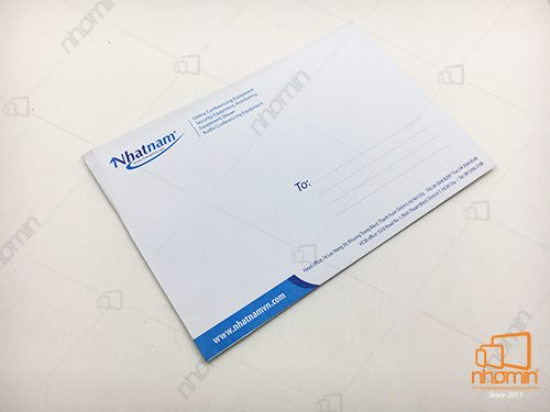 báo giá in phong bì thư a5