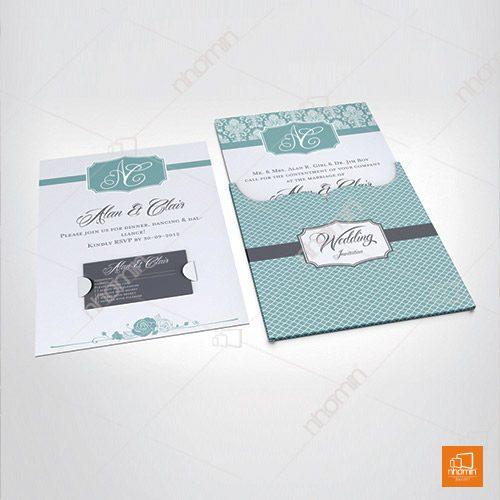 Thiệp mời dự tiệc cưới